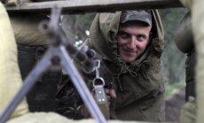 Separātisti Luhanskā sagrābuši nacionālās gvardes daļu