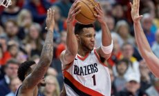 'Trail Blazers' un 'Wizards' basketbolisti nodrošina vietu NBA izslēgšanas spēlēs