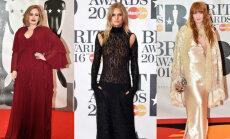 """ФОТО, ВИДЕО: Самые """"голые"""", прозрачные, сексуальные и обсуждаемые наряды Brit Awards"""