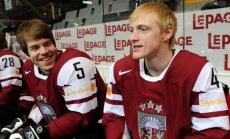Latvijas izlases treniņiem pievienojas arī Sprukts un Cipulis