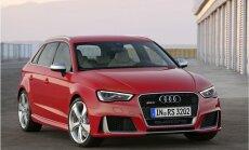 Visjaudīgākais sērijveida hečbeks pasaulē – 'Audi RS3 Sportback'