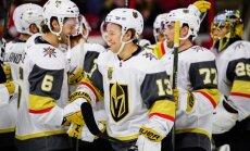 Lasvegasas 'Golden Knights' atkal labo NHL rekordu