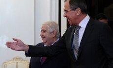 Sīrijas valdība gatava sarunām ar bruņoto opozīciju