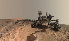 Marsa izpētes robots 'Curiosity' iepriecina ar selfiju no Sarkanās planētas