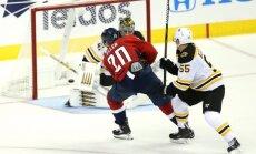 'Capitals' NHL jaunās sezonas ievadā samet septiņus vārtus un 'sausā' uzvar 'Bruins'