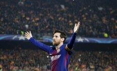 Mesi gūst simtos vārtus Čempionu līgā un ieved 'Barcelona' ceturtdaļfinālā