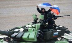 Krievijā sākta negaidīta un plaša karaspēka kaujas gatavības pārbaude