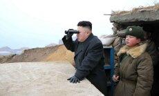 Ziemeļkoreja atslēdz tiešo sakaru līniju ar Dienvidkoreju