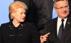 Lietuvas prezidente brīdina NATO dalībvalstis par Krievijas Kaļiņingradas apgabala militarizāciju un militāro tehnoloģiju nodošanu trešajām valstīm