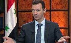 Sīrijas konfliktā nav pierādīti ķīmiskie uzbrukumi, apgalvo Asads