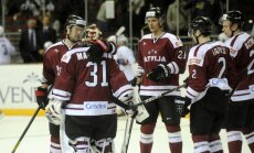 Latvijas izlase uz PČ dodas ar uzvaru pēdējā pārbaudes spēlē