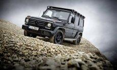 'Mercedes-Benz' ražošanā atjauno G-klases askētisko versiju