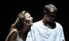 Foto: Kā top izrāde 'Uguns un nakts' Latvijas Nacionālajā teātrī
