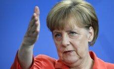 Krievijas līdzdalība Ukrainas konfliktā ir acīmredzama, atzīst Merkele