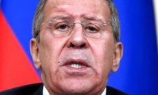 Lavrovs pēkšņi apsūdz ASV Sīrijas kurdu separātisma veicināšanā