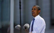 Obama: Sīrijas ķīmiskie ieroči rada nopietnas bažas