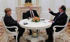 Topošais Ukrainas pamiera plāns: katrai pusei savas ambīcijas