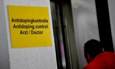 Antidoping contol biathlon stadion in Hochfilzen