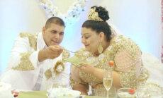 Interneta hits: Īsteni šikas kāzas čigānu gaumē