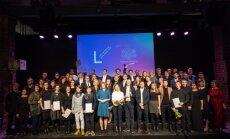 Foto: Latvijas Dizaina gada balvu 2018 iegūst 'RIGA IFF vizuālā komunikācija un vides objekti'