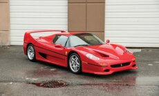 Foto: Maika Taisona 'Ferrari F50' plāno izsolīt par 2,3 miljoniem dolāru