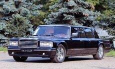 Jau atkal pārdošanā par miljonu nonācis Putina izbrāķētais ZIL limuzīns