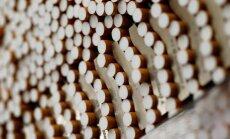 Rēzeknes novadā konfiscē vairāk nekā miljonu kontrabandas cigarešu
