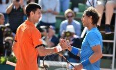 Džokovičs pārtrauc Nadala uzvaru sēriju Francijas atklātajā čempionātā