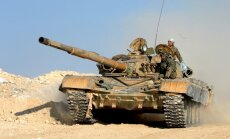 Karte: Irāņu vadītie afgāņu kaujinieki Sīrijā sasnieguši Irākas robežu