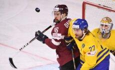 Daugaviņš: Zviedrijas hokejisti ir lielākie huligāni pasaules čempionātā