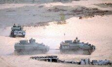Латвия получила из Великобритании половину подержанных бронемашин