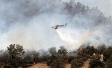 Kalifornijā savvaļas ugunsgrēks sasniedzis Josemitu nacionālo parku
