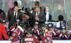'Rīgas' hokejisti mača izskaņā atzīst 'Loko' komandas pārākumu