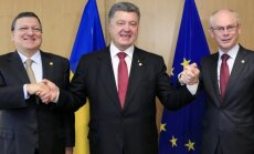Porošenko: Ukraina pieteikumu dalībai ES iesniegs 2020.gadā