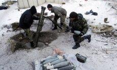 Separātistu uzbrukumos Luhanskā un Doņeckā bojā gājuši seši cilvēki