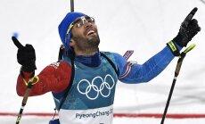 Фуркад выиграл олимпийский масс-старт в Пхенчхане, Расторгуев упал