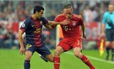 Minhenes 'Bayern' un 'Barcelona' noskaidro UEFA Čempionu līgas otro finālistu