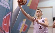 Latvijas U-20 basketbolisti EČ otrās divīzijas otrajā spēlē uzvar Beļģijas vienaudžus