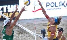 Samoilovs un Šmēdiņš sasniedz Polijā notiekošā 'Grand Slam' turnīra finālu