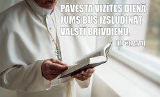 Cehs.lv: Pāvesta raideris vizītei Latvijā – 8 miljoni