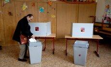 Sākotnējie rezultāti: Čehijas vēlēšanās uzvarējusi eiroskeptiķa Babiša partija