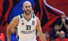 Eirolīgas izslēgšanas spēles sākas ar CSKA un 'Panathinaikos' uzvarām