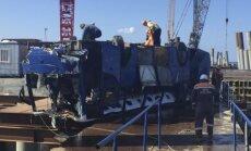 Krievijā autobuss iekrīt Melnajā jūrā; 17 bojāgājušie