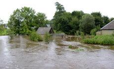 В 27 краях Латвии объявлено чрезвычайное положение