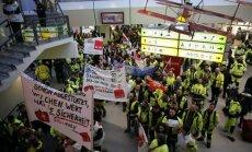 Berlīnes lidostu darbinieku streika dēļ arī latviešu ceļotājiem sarežģījumi