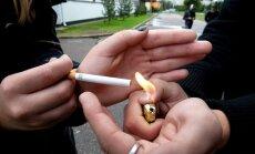 Jauniešu vidū pieaug smēķētāju un ūdenspīpes lietotāju skaits