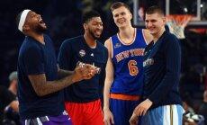 Porziņģa trešais piegājiens – sākusies NBA Zvaigžņu spēles balsošana