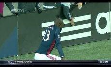 ВИДЕО: Футболист получил желтую карточку за исполнение тверка после гола
