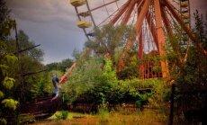 Pamesti, bet joprojām populāri un neparasti skaisti atrakciju parki