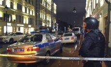 Vīrietis, kurš sagrāba ķīlniekus bankā Maskavā, padevies policijai